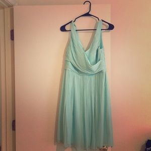 J.Crew mint green bridesmaid/ formal dress